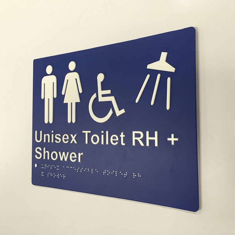 blue-and-white-plastic-unisex-toilet-right-hand-shower-sign